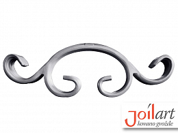 Wrought iron component