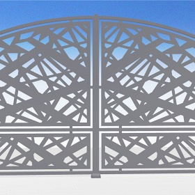 CNC gates and fences